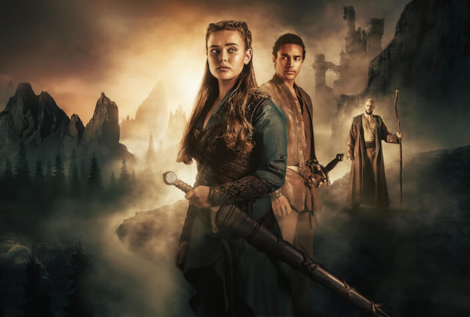 Cursed on Netflix – Watch an Arthurian Prequel about Magic and Destiny - Featured Image featuring Nimue, Arthur, and Merlin