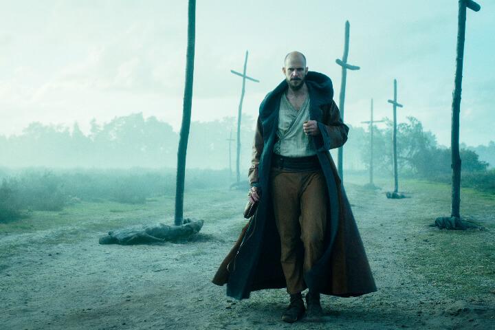 Merlin from Cursed TV Series