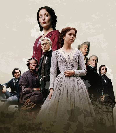 Bleak House poster with the cast; best Britbox shows