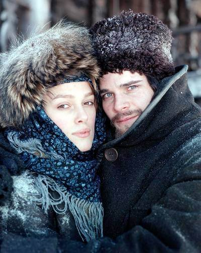 Doctor Zhivago promotional image; best britbox shows with romance