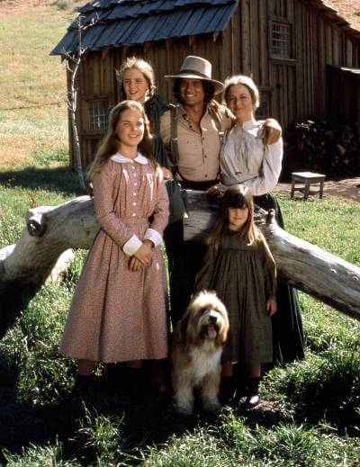 Little House on the Prairies drama series promo cast image