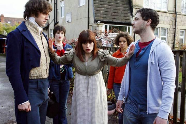 Lost in Austen publicity still; best shows on BritBox with romance