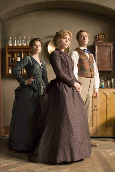Ruby in the Smoke promotional image (the Sally Lockhart Mysteries); best BritBox shows with romance