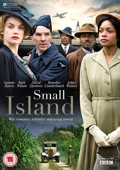 Small Island DVD cover; best BritBox shows