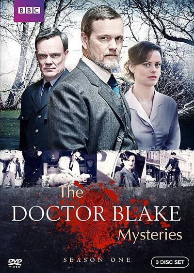 The Doctor Blake Mysteries DVD cover; included in best Britbox shows with romance list