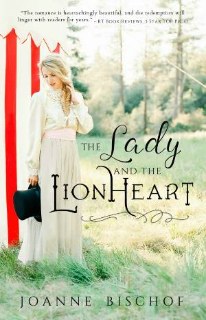 The Lady and the Lionheart book cover; christian historical romance novels