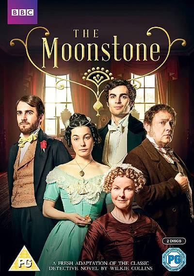 The Moonstone DVD cover; best BritBox shows
