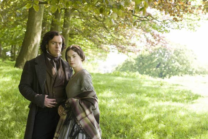 Jane and Rochester; iconic couples on BritBox