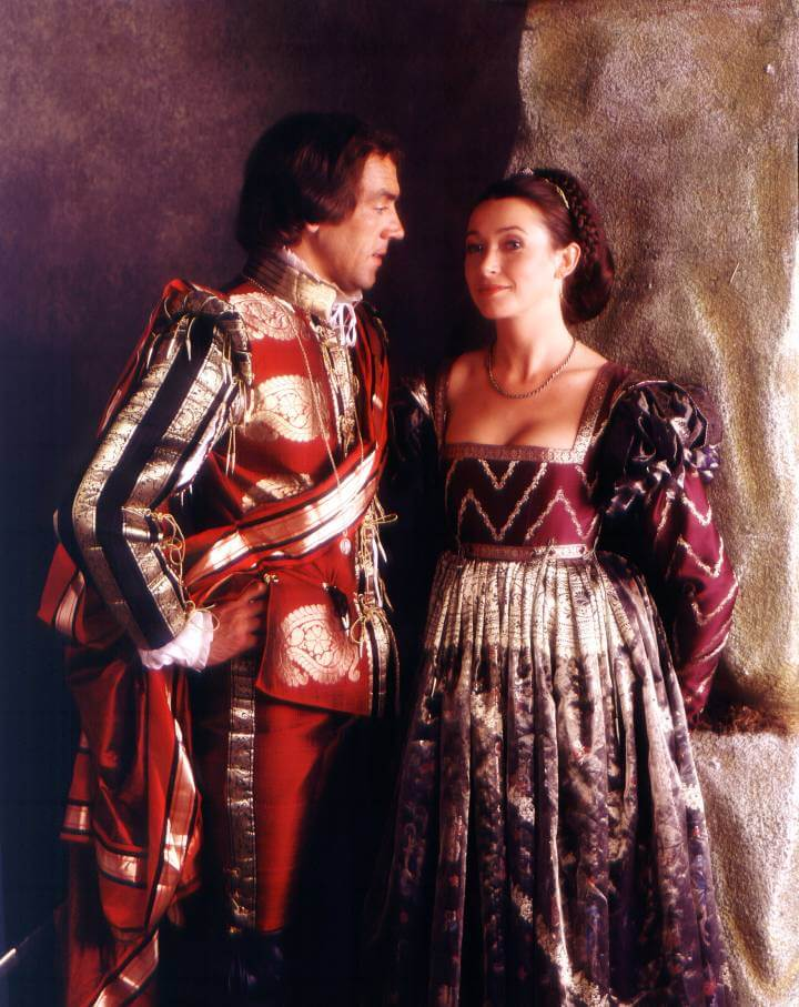 Beatrice and Benedick in Much Ado About Nothing 1984