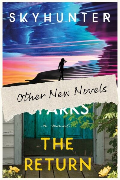 The Top Ten New Novels To Read This Month Image of Skyhunter and The Return