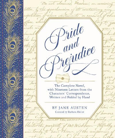 Pride and Prejudice 19 letters deluxe edition book cover