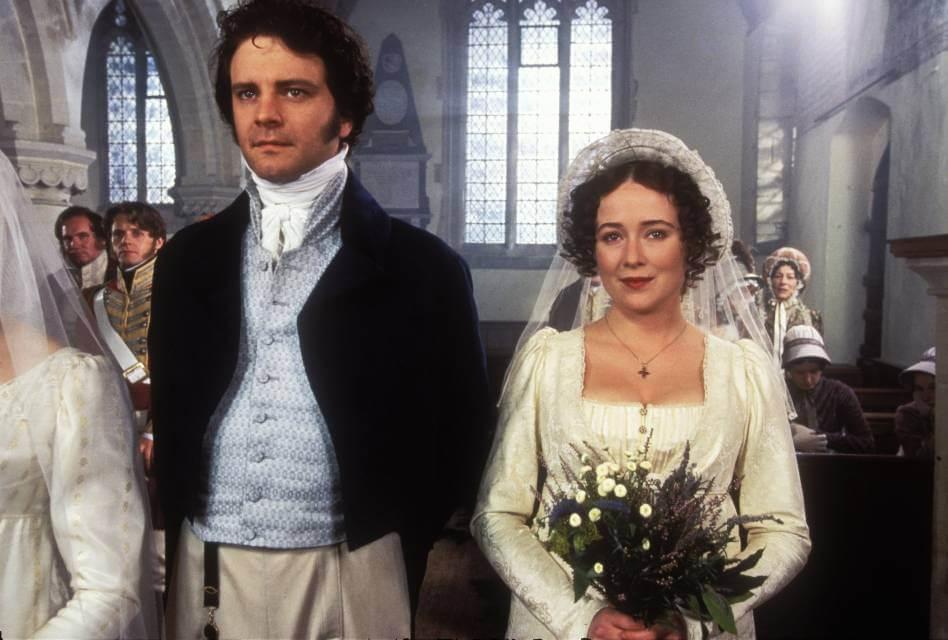 Pride and Prejudice 1995; Elizabeth and Mr. Darcy