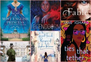 The Top Ten New Novels To Read This Month Featured Image at Top of Post