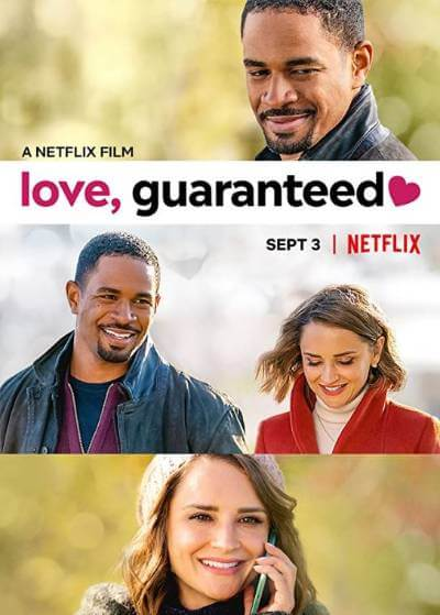 Love, Guaranteed poster; best new movies and shows in September 2020
