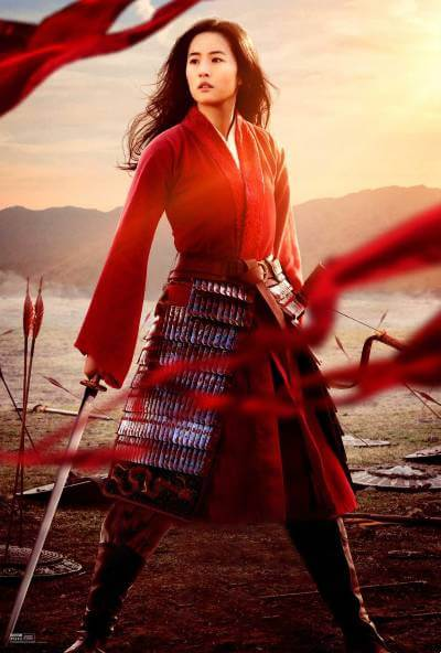 Mulan promo image; best new movies and shows