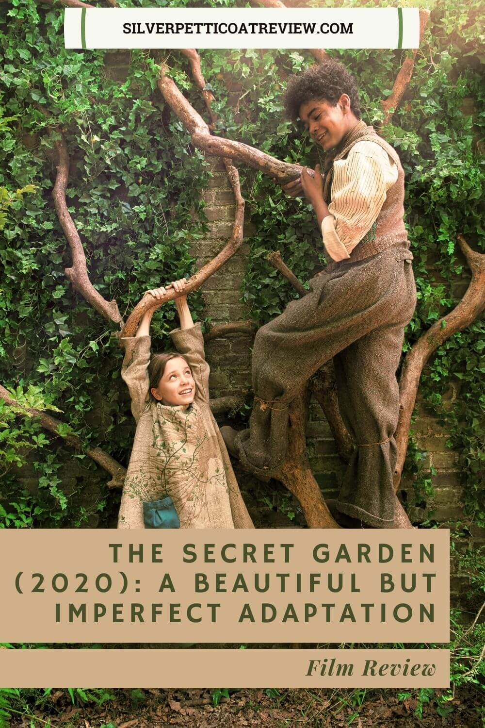 The Secret Garden (2020): A Beautiful But Imperfect New Adaptation - Pinterest image