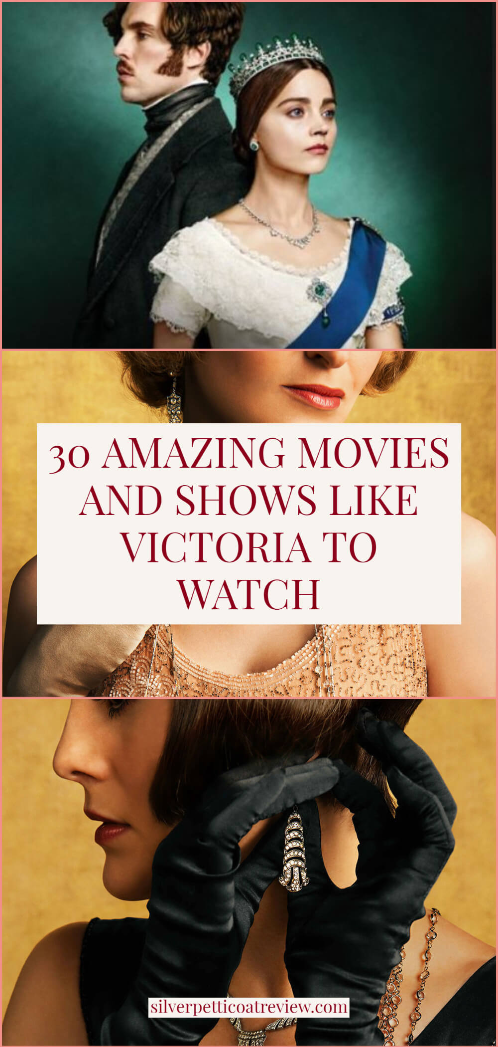 30 Amazing Movies and Shows Like Victoria to Watch - Pinterest Graphic