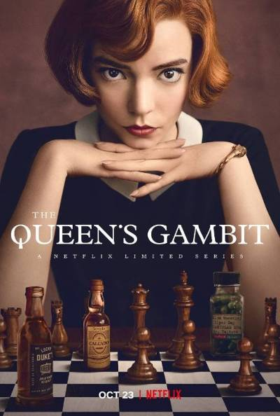 the queen's gambit netflix poster
