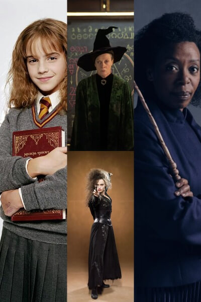 Female Harry Potter Characters - Female Book Characters - Costume Ideas