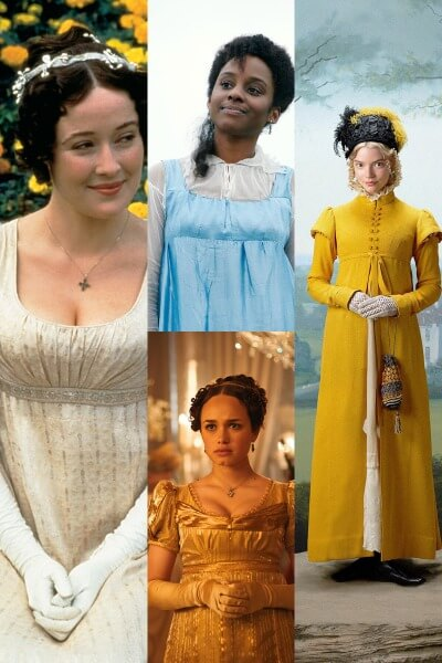 Jane Austen Female Characters - Costume Ideas