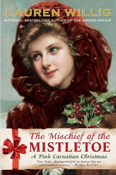 The Mischief of the Mistletoe book cover; November 2020 read for The Silver Petticoat Book Club