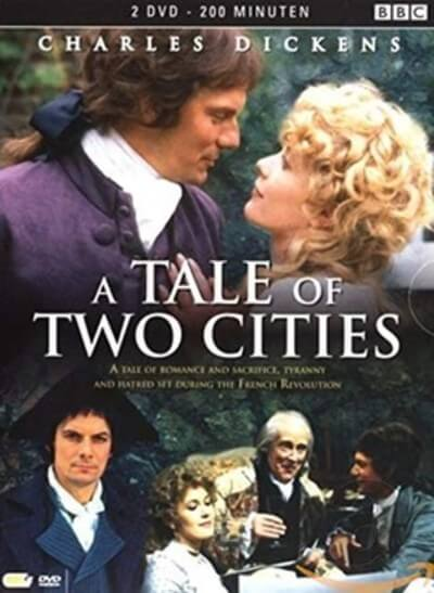 A Tale of Two Cities poster 1980 BBC