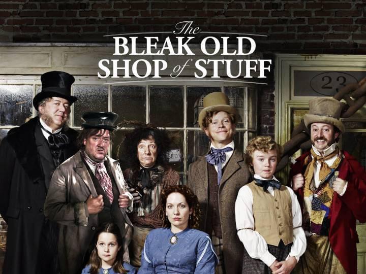 The Bleak Old Shop of Stuff Poster