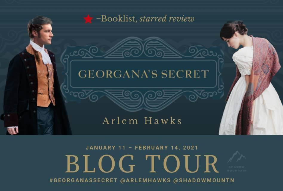 Georgana's Secret Book Review - Blog Tour image