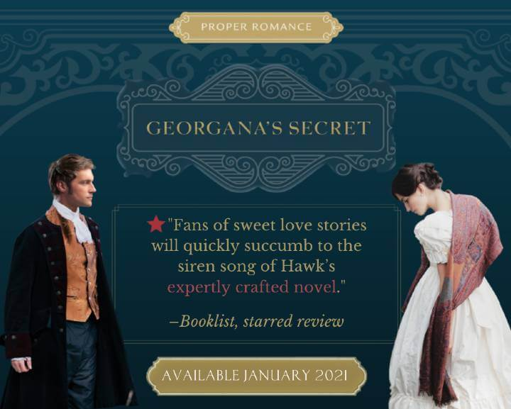 Georgana's Secet Booklist starred review