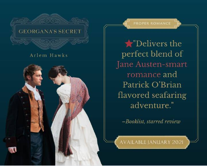 Georgana's Secret Booklist quote