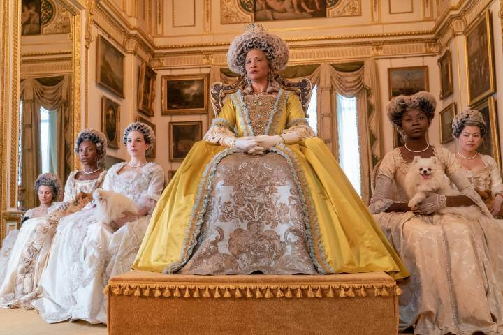 Queen Charlotte in Bridgerton; review