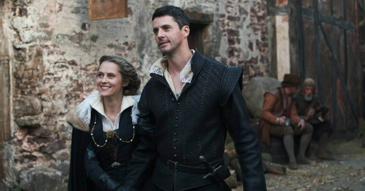 A Discovery of Witches Season 2 - Diana and Matthew in Elizabethan London