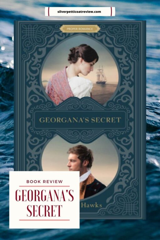 Georgana's Secret Book Review Pinterest image