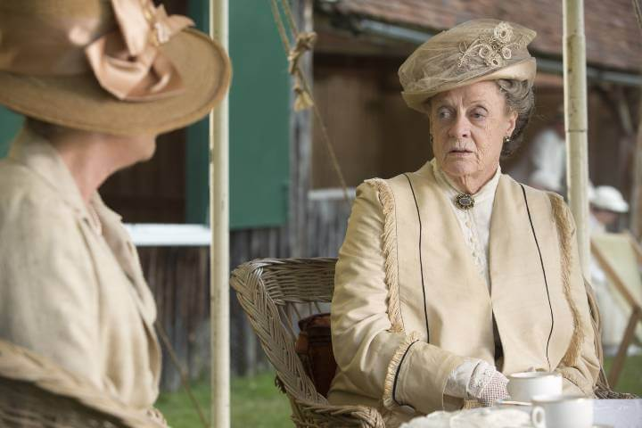 Isobel and Violet in Downton Abbey