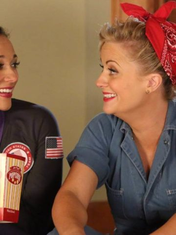 Galentine's Day featured image with Ann and Leslie from Parks and Recreation