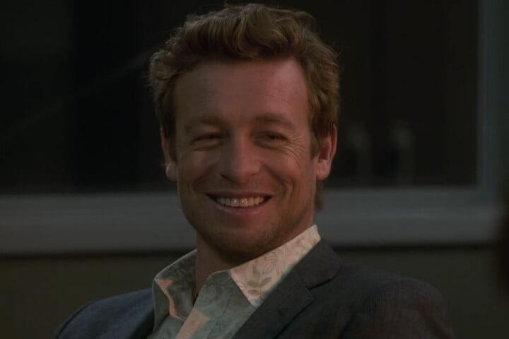Patrick Jane smiles