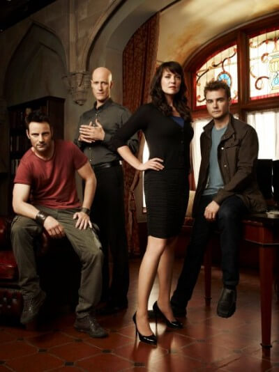 sanctuary promo image; urban fantasy TV show
