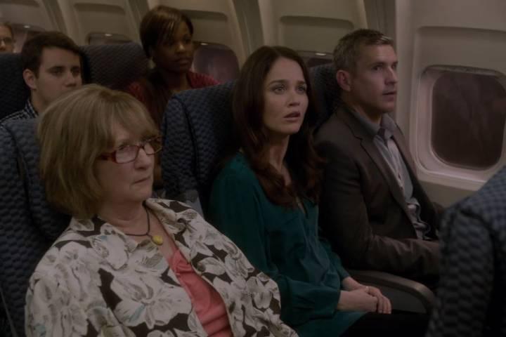 Lisbon on Plane