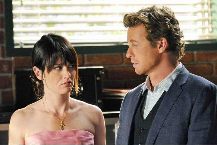 Jane and Lisbon publicity still for The Mentalist