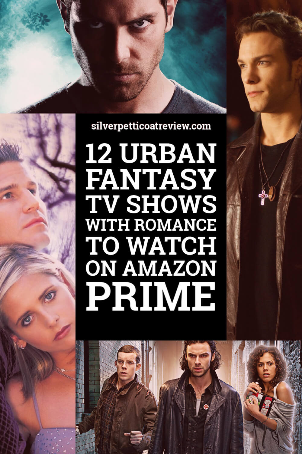 12 Urban Fantasy TV Shows to Watch on Amazon Prime; pinterest image