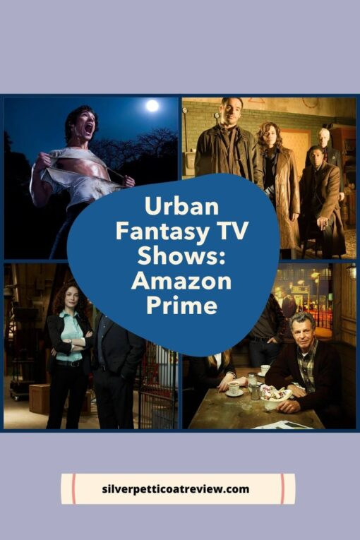 Urban Fantasy TV Shows: Amazon Prime; Pinterest image