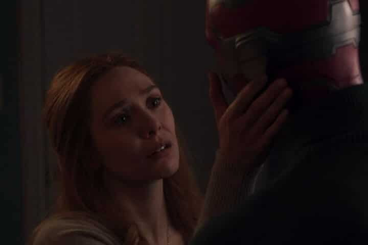 Wanda says Vision is part of mindstone