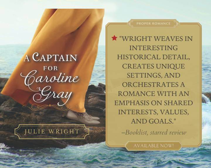 A Captain for Caroline Gray Booklist Review Quote