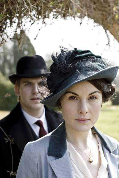 Lady Mary and Matthew in Downton Abbey