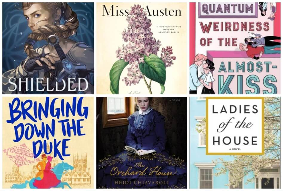 Book Reviews of the Month: Miss Austen by Gill Hornby, The Orchard House, Shielded, and More