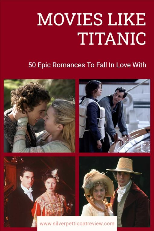 Movies Like Titanic Pinterest image