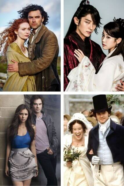 Four movie pictures