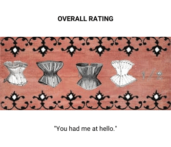 Four and a half corsets rating