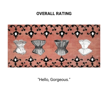 Four corsets rating