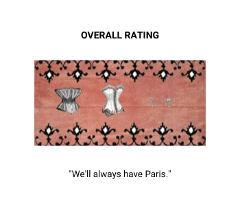 Two and a half corsets rating